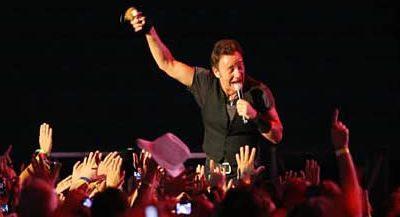 Bruce Springsteen 'la lía' en Bilbao