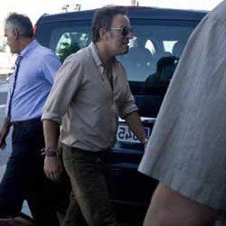 Bruce Springsteen instala su base de operaciones en San Sebastián