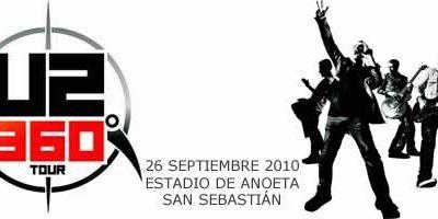 Las entradas para U2 en San Sebastián, el 1 de diciembre