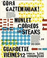 Salvemos Gaztemaniak! organiza un concierto Gora Gaztemaniak!