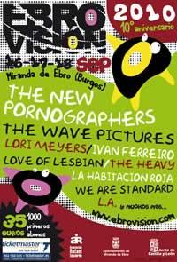 Avance del cartel de Ebrovisión 2010