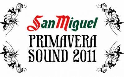 Primeras confirmaciones para San Miguel Primavera Sound 2011