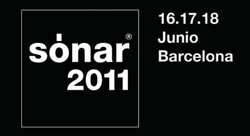 Primeros detalles de Sónar 2011