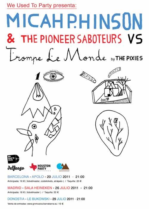Micah P. Hinson versionará Trompe Le Monde de The Pixies en concierto