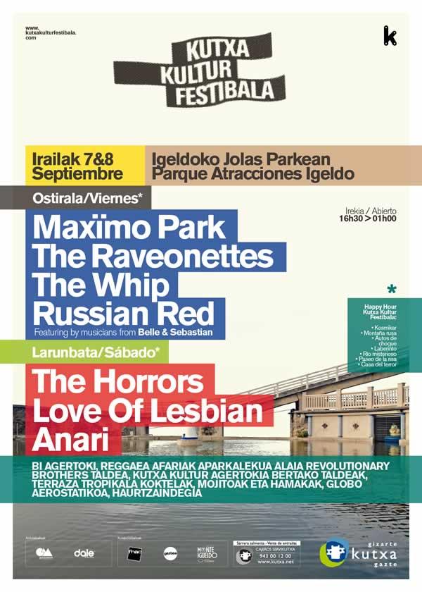 kutxa kultur festibala 2012