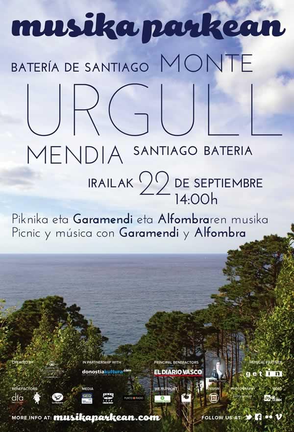 Alfombra y Garamendi cerrarán los Musika Parkean de 2012