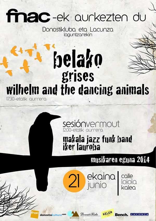 La sorpresa Belako encabeza el Día de la Música en San Sebastián