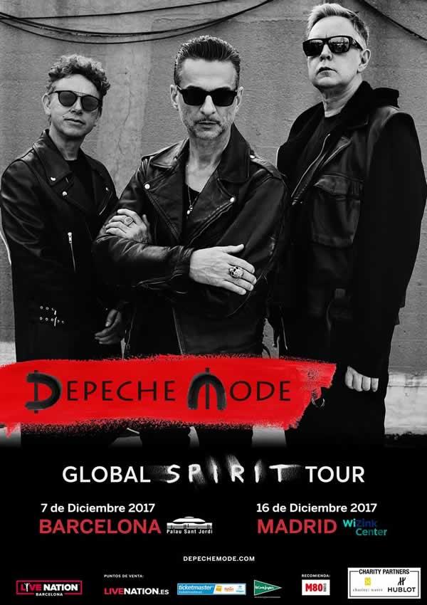 Depeche Mode regresa a Europa y actuará en Barcelona y Madrid