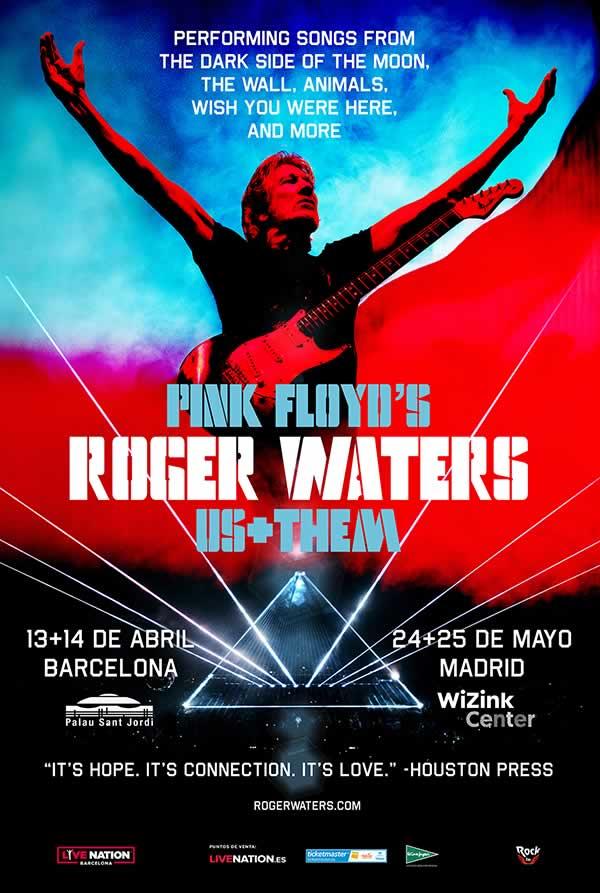 Roger Waters eleva la voz en Us + Them