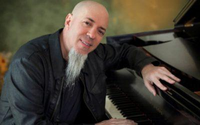 La leyenda de los teclados Jordan Rudess estará el domingo en San Sebastián