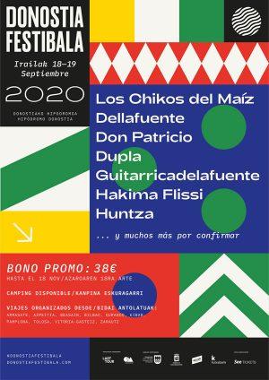 Donostia Festibala (Aplazado a 2021) @ Hipódromo Donostia | Zubieta | País Vasco | España